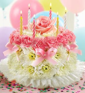 Birthday Flower Cake® Pastel