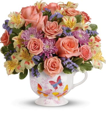 Butterfly Sunrise Bouquet