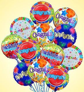 Air-Rangement® - Congratulations Mylar Balloons