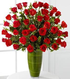 Fascinating Luxury Rose Bouquet - 24-inch Premium Long-Stemmed R
